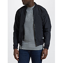 Buy Penfield Okenfield Bomber Jacket, Black Online at johnlewis.com