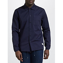 Buy Penfield Blackstone Drawstring Hem Overshirt, Navy Online at johnlewis.com