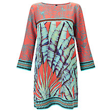 Buy Marc Cain Printed Tunic Dress, Sunrise Online at johnlewis.com