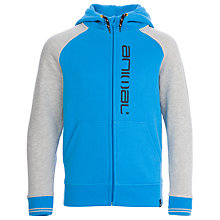 Buy Animal Boys' Humming Hoodie, Blue Online at johnlewis.com