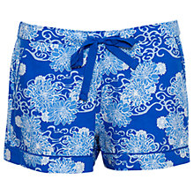 Buy Cyberjammies Maya Floral Print Shorts, Blue Online at johnlewis.com