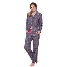 Buy Cyberjammies Bella Confetti Spot Pyjama Set, Grey/Pink Online at johnlewis.com