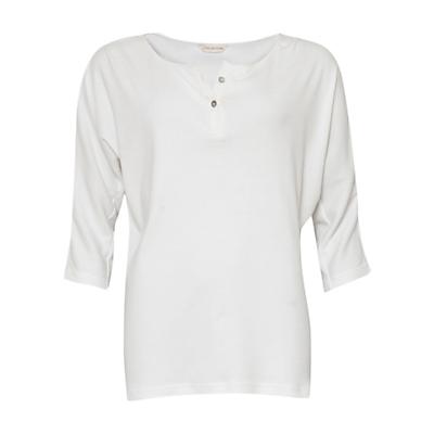 Cyberjammies Josie 3/4 Sleeve Pyjama Top, White