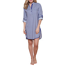 Buy Cyberjammies Connie Spot Nightshirt, Purple/Multi Online at johnlewis.com
