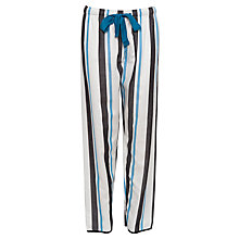 Buy Cyberjammies Clara Striped Pyjama Bottoms, Multi Online at johnlewis.com