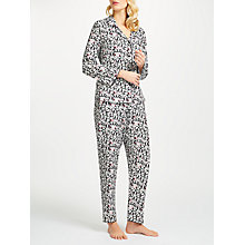 Buy Cyberjammies Pandora Panda Pyjama Set, Black/White Online at johnlewis.com