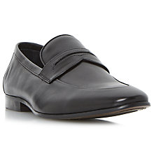 Buy Dune Penny Saddle Loafers, Black Online at johnlewis.com