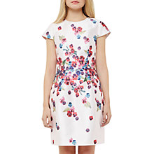 Buy Ted Baker Expressive Pansy Ibia Dress, Baby Pink Online at johnlewis.com