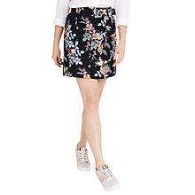 Buy Oasis Violet Print Skirt, Multi Online at johnlewis.com