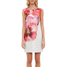 Buy Ted Baker Expressive Pansy Diliani Tunic Dress, Mid Grey Online at johnlewis.com