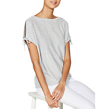 Buy Mint Velvet Marl Cold Shoulder Knit Top, Grey Online at johnlewis.com