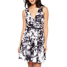 Buy Miss Selfridge Photographic Floral Prom Dress, Multi Online at johnlewis.com