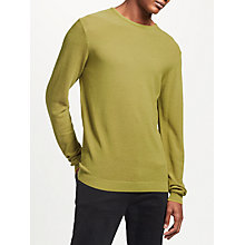 Buy Kin by John Lewis Tipped Merino Jumper, Willow Online at johnlewis.com