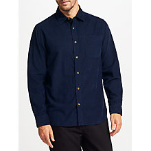 Buy John Lewis Needle Cord Shirt, Blue Online at johnlewis.com