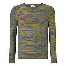 Buy Kin by John Lewis Salt and Pepper Yarn Jumper, Navy Online at johnlewis.com