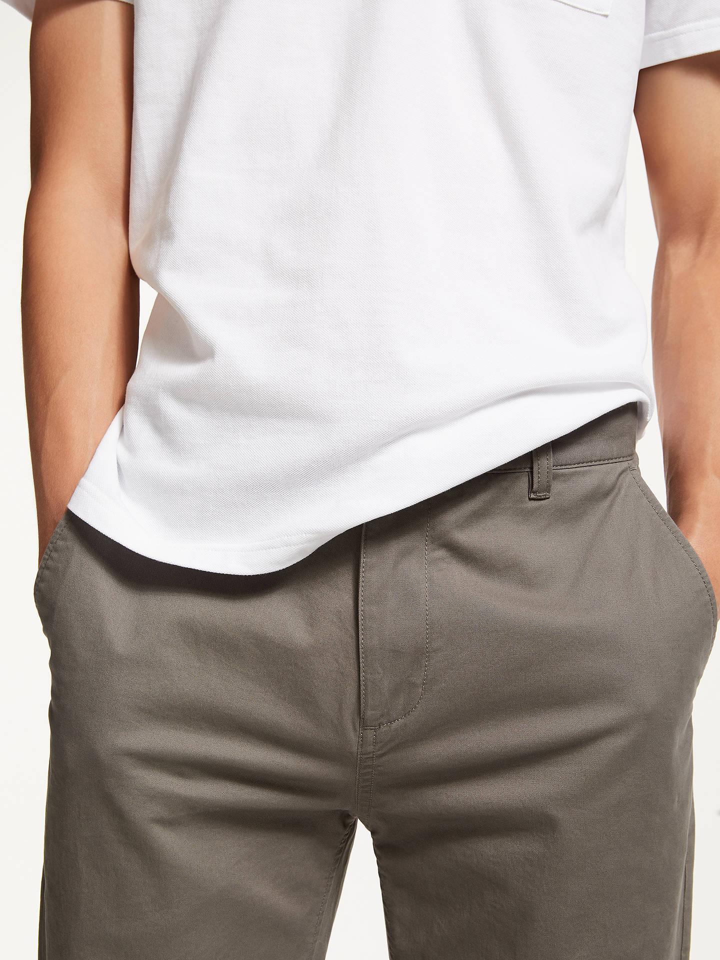 Kin Stretch Cotton Chinos At John Lewis Partners Tendencies Navy Short 30 Buykin Grey 32s Online