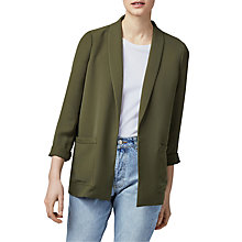Buy Warehouse Relaxed Fit Jacket Online at johnlewis.com