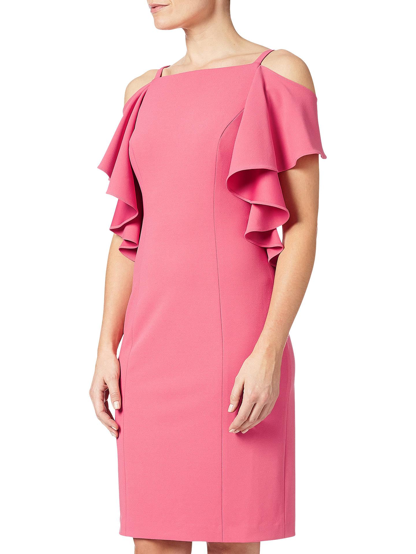 6cc75b892b7 BuyAdrianna Papell Plus Size Flutter Cold Shoulder Sheath Dress