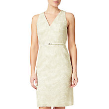 Buy Adrianna Papell Effie Halter Neckline Sheath Dress, Ivory Online at johnlewis.com
