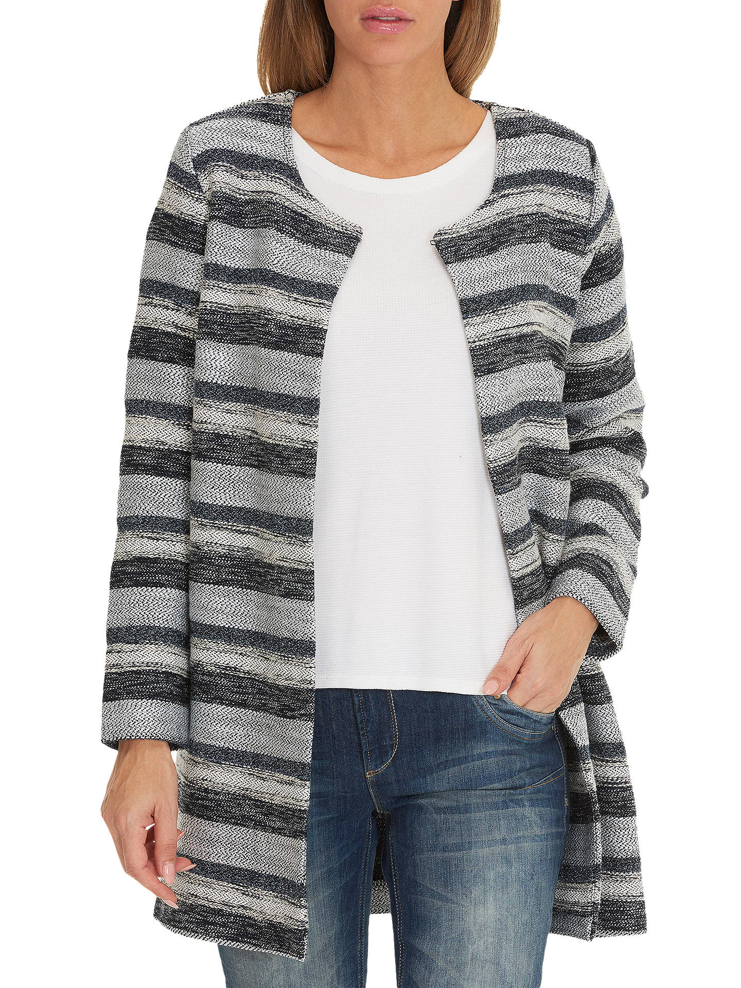 BuyBetty & Co. Unlined Jacket, Dark Blue/Grey, 10 Online at johnlewis.com