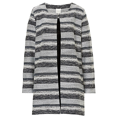 Buy Betty & Co. Unlined Jacket, Dark Blue/Grey Online at johnlewis.com