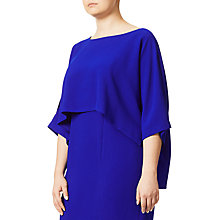 Buy Adrianna Papell Plus Size Draped Blouson Sheath Dress, Iris Online at johnlewis.com