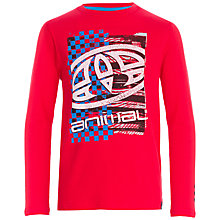 Buy Animal Boys' Board Print Long Sleeve T-Shirt Online at johnlewis.com