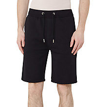 Buy Reiss Alvin Jersey Shorts, Navy Online at johnlewis.com