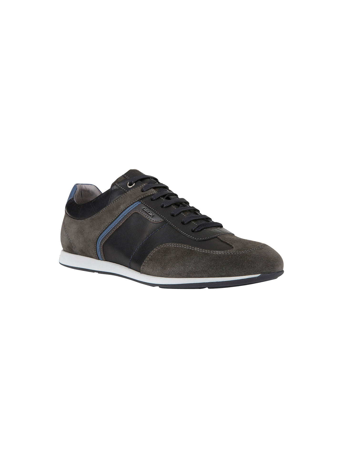 Geox Clemet Trainers | Black at John Lewis & Partners