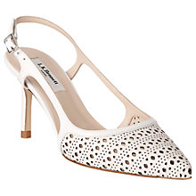 Buy L.K. Bennett Mitzi Cut Out Slingback Court Shoes Online at johnlewis.com