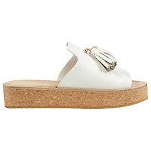 Buy Jigsaw Zoey Flatform Slider Sandals Online at johnlewis.com