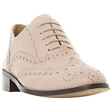 Buy Dune Black Fascination Lace Up Brogues, Nude Online at johnlewis.com
