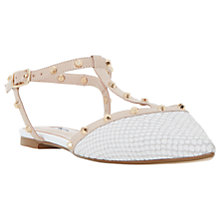 Buy Dune Cayote Studded T-Bar Pumps Online at johnlewis.com