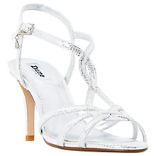 Buy Dune Miniee Strappy Stiletto Sandals Online at johnlewis.com