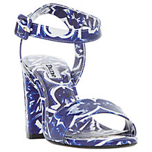 Buy Dune Myko Block Heeled Sandals, Multi Online at johnlewis.com