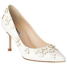 Buy L.K. Bennett Lilly Pointed Toe Stiletto Court Shoes, Multi Online at johnlewis.com