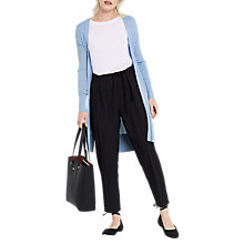 Buy Oasis All Over Rib Edge To Edge Cardigan Online at johnlewis.com
