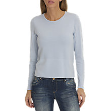 Buy Betty & Co. Textured Knit Top, Arctic Ice Online at johnlewis.com