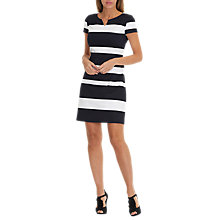 Buy Betty & Co. Striped Shift Dress, Dark Blue/White Online at johnlewis.com