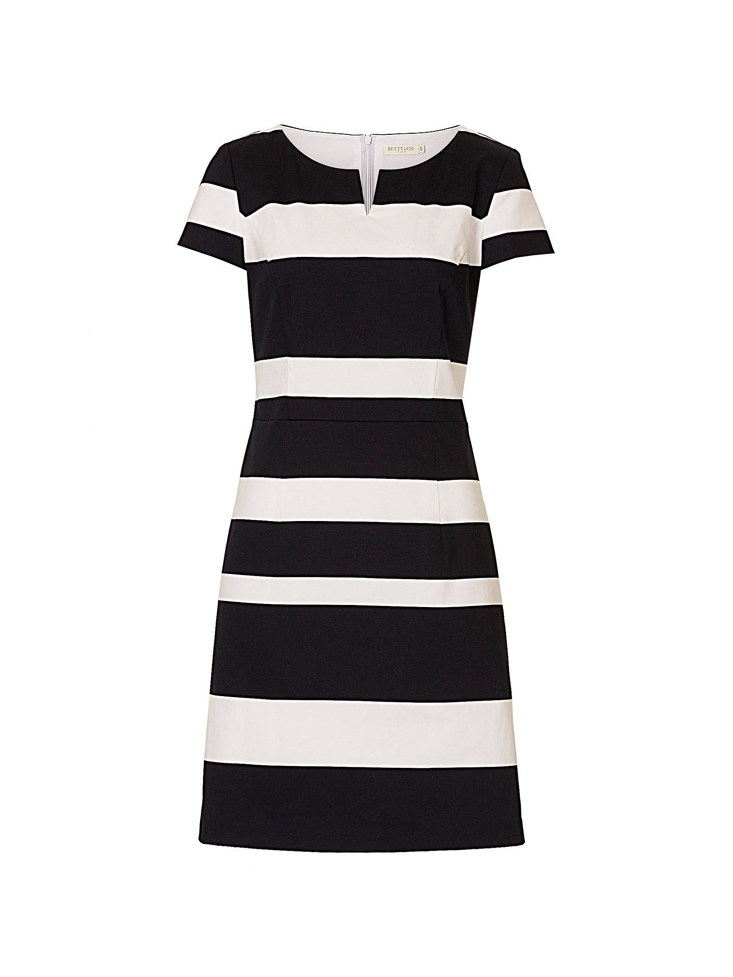 Buy Betty & Co. Striped Shift Dress, Dark Blue/White, 10 Online at johnlewis.com