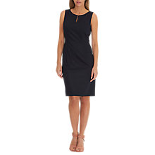 Buy Betty & Co. Tailored Shift Dress, Dark Sapphire Online at johnlewis.com