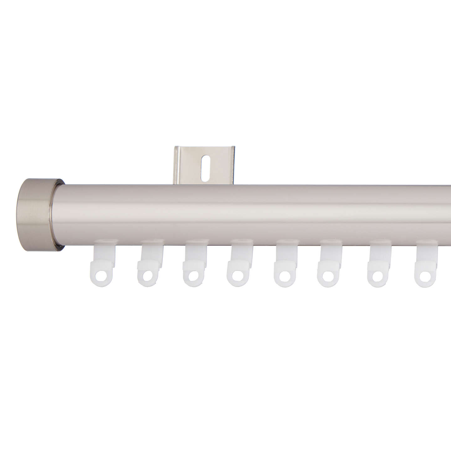 House by john lewis curtain pole track 28mm silver at john lewis buyhouse by john lewis curtain pole track 28mm silver l150cm online at aloadofball Image collections
