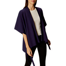 Buy Karen Millen Cape Cardigan, Navy Online at johnlewis.com