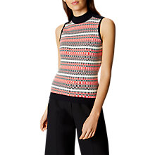 Buy Karen Millen Textured Top, Multi Online at johnlewis.com