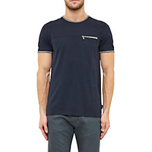 Buy Ted Baker Lincolm Zip Pocket T-Shirt Online at johnlewis.com