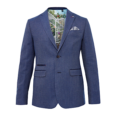Ted Baker T for Tall Flyitt Modern Fit Suit Jacket, Bright Blue