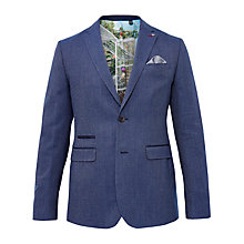 Buy Ted Baker T for Tall Flyitt Modern Fit Suit Jacket, Bright Blue Online at johnlewis.com