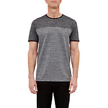 Buy Ted Baker T for Tall Bikett Mouline T-Shirt, Charcoal Online at johnlewis.com