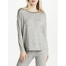 Buy John Lewis Space Dye Lounge Top, Ivory/Grey Online at johnlewis.com