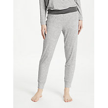 Buy John Lewis Space Dye Lounge Bottoms, Ivory/Grey Online at johnlewis.com